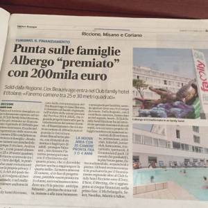 Family Hotel giornale